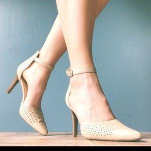 Franco Sarto ankle strap heels: ASHLYN